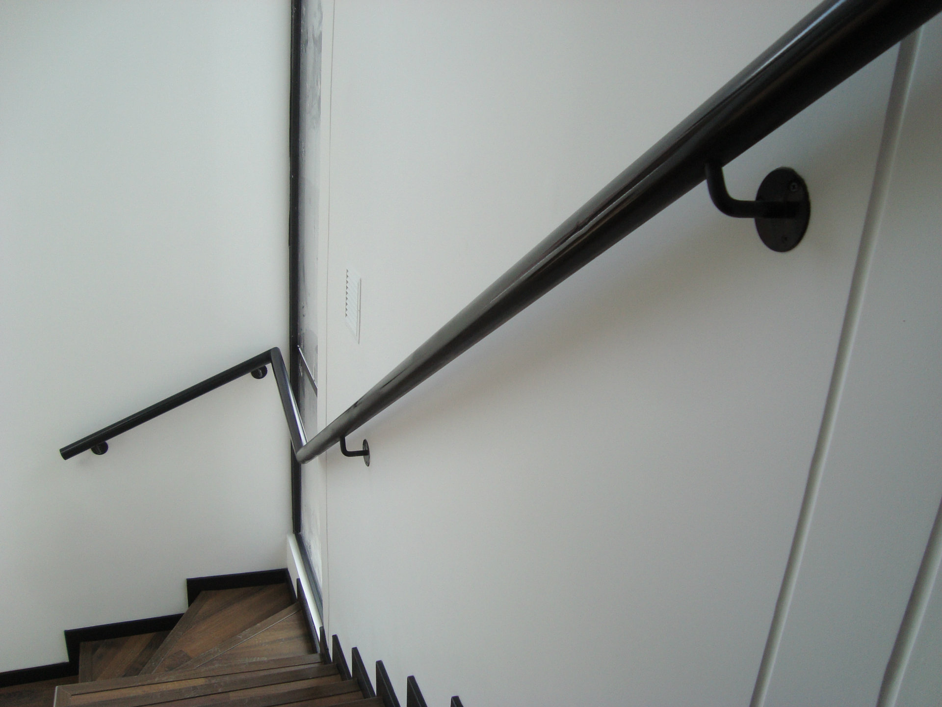 Pasamanos mixtos metalmachine - Pasamanos de acero inoxidable para escaleras ...