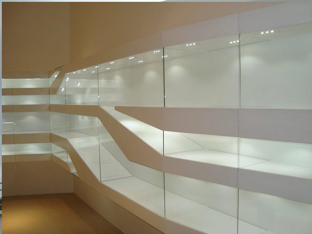 paredes de vidrio templado