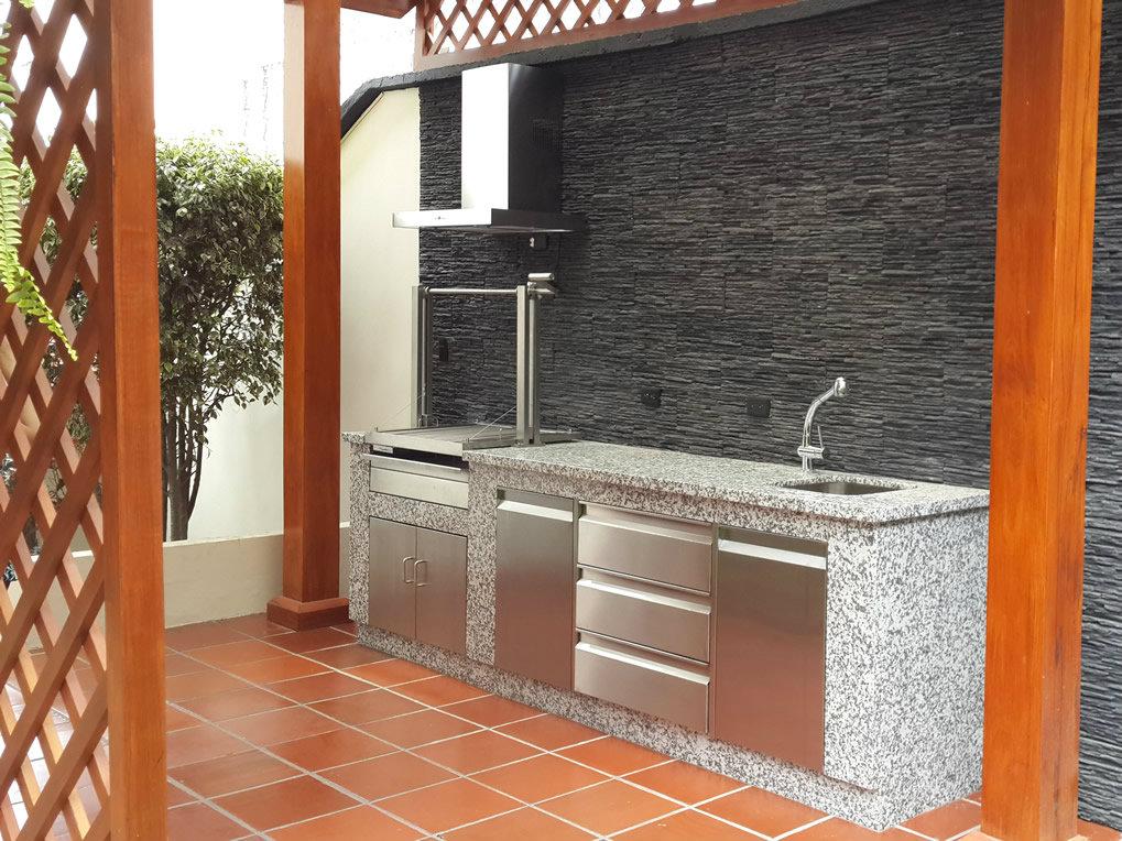 Parrillas bbq parrillas para asados metalmachine for Parrillas para casas modernas