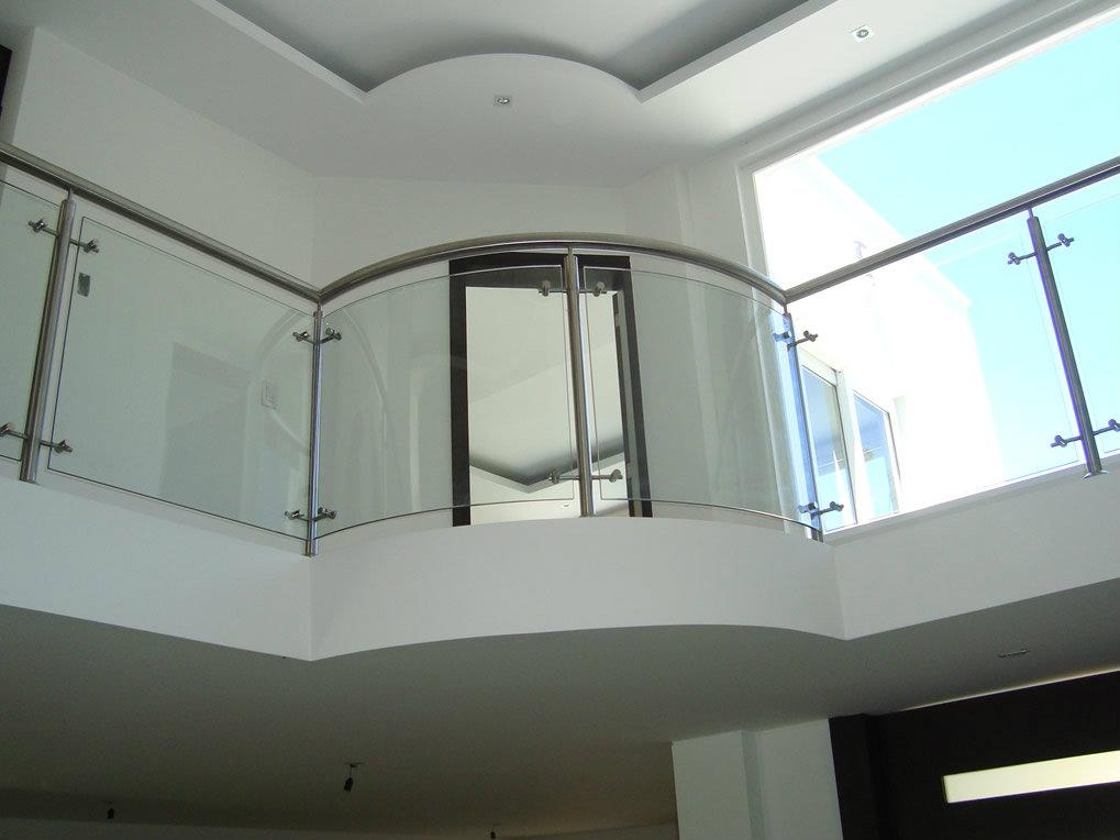 Pasamanos de vidrio y punto fijo metalmachine for Pasamanos para ducha